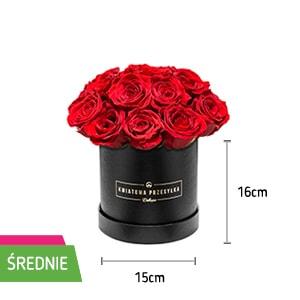 Róże W Pudełku Oryginalny Pomysł Na Prezent